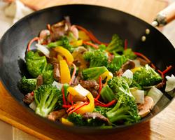 verduras al wok receta